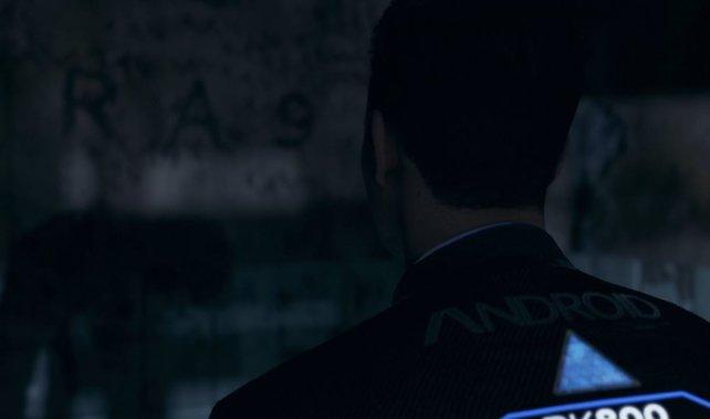 Connor und Hank finden den ersten Hinweis zu rA9. Aber was bedeutet es?