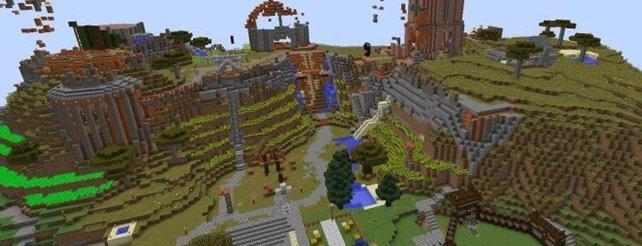 Minecraft Bt Ist Der Vermutlichste Schlimmste MinecraftServer Der - Spiele in minecraft bauen