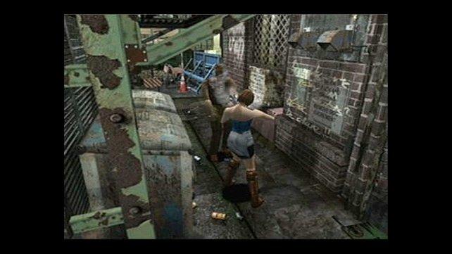 Graues Blut und blinkende Zombies zerstören die Atmosphäre. (Bild von schnittberichte.com)