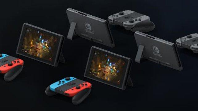 Wenn ihr genug Leute kennt, die auch ein Switch besitzen, ist der Multiplayer die richtige Funktion für euch.