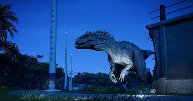Unter anderem könnt ihr in Jurassic World: Evolution euren eigenen Dinosaurierpark eröffnen.