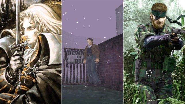Steht Castlevania, Silent Hill und Metal Gear ein strahlendes Comeback bevor?