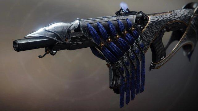 Bastion - das Exo-Fusionsgewehr.
