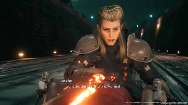Auch wenn ihr ihn vertreibt, kündigt Locche an, dass ihr ihn bald wieder sehen werdet.