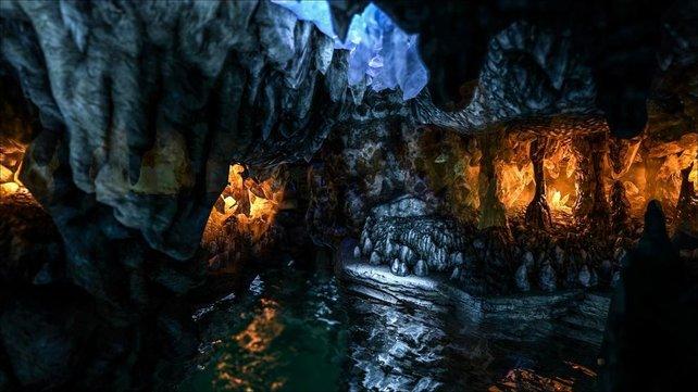 Die Höhle der verlorenen Hoffnung birgt eisige Kälte.