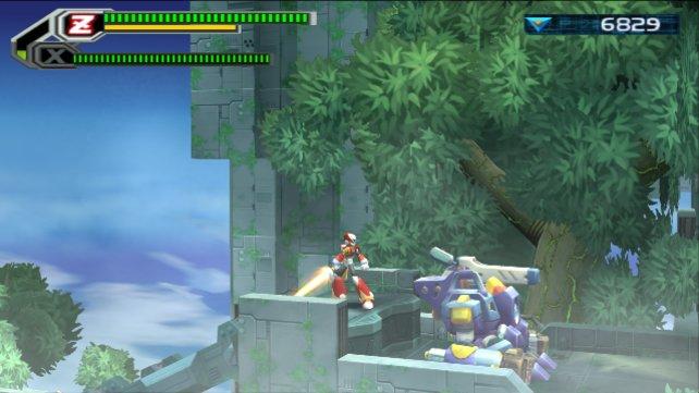 Mega Man X8 kam komplett polygonal daher. Die Spieler fanden daran keinen großen Gefallen.