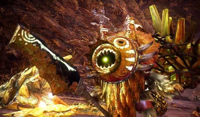 Lasst die Gold-Gajalaka nicht links liegen. Sie können im Kampf ganz schön nerven. Mit Blitzkapseln oder ähnlichen Geschossen haltet ihr sie im Zaum.