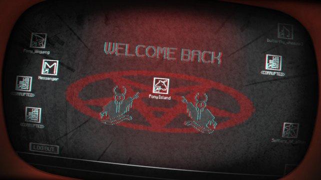 Der Desktop des Teufels höchstpersönlich?