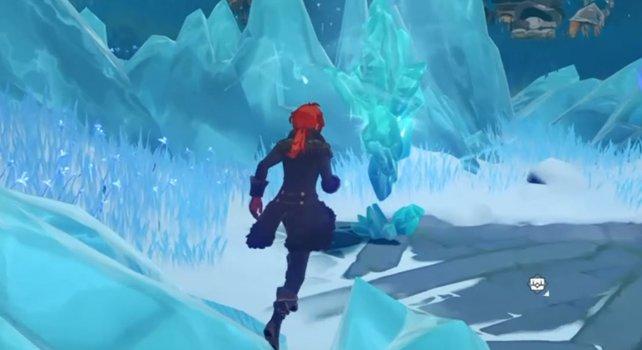 Die Suche nach den eingefrorenen Fragmenten steht im Mittelpunk des Weltauftrags.