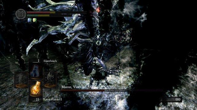 Vor der Dunkelmagie schützt euch der Anhänger aus der Stadt Oolacile oder der läuternde Turmschild von Sif.