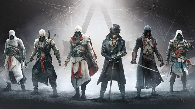 """Ihr dürft euch offenbar auch auf einen """"Assassins's Creed""""-Teil freuen. Welcher es wohl werden wird?"""