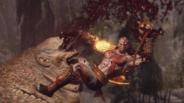 Im neuen God of War reißt ihr keine Augen aus euren Gegnern