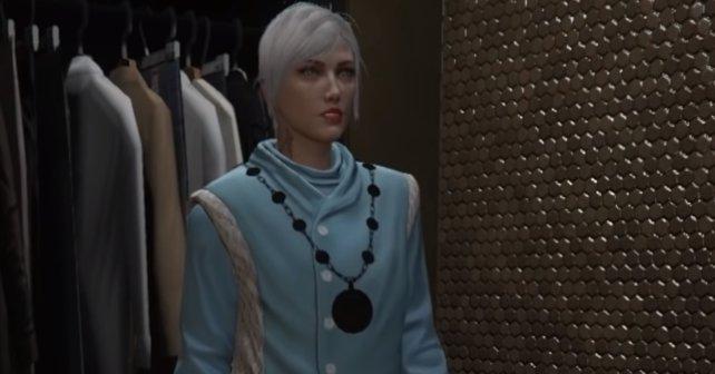 So sieht das Outfit aus.