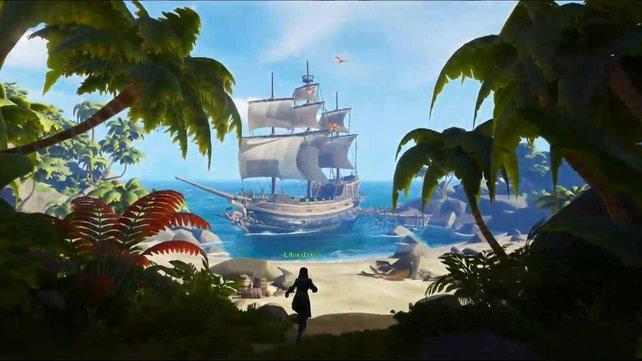 Legt an Inseln an, um deren Geheimnisse zu lüften und Schätze zu heben.
