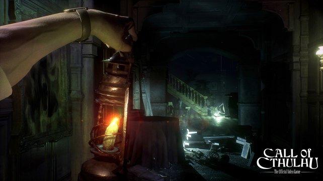Das Spiel selbst erlebt ihr komplett aus der Ego-Perspektive, was die Grusel-Atmosphäre weiter verstärkt.