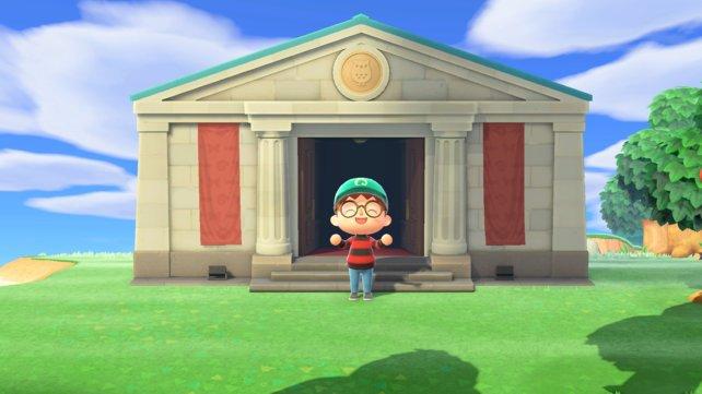 Das Museum ist ein prächtiges Gebäude in Animal Crossing: New Horizons.