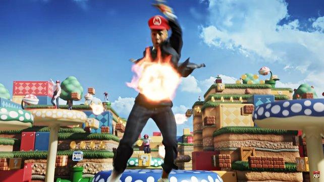 Super irre, Super Nintendo World: Im Trailer geht's wild zu.