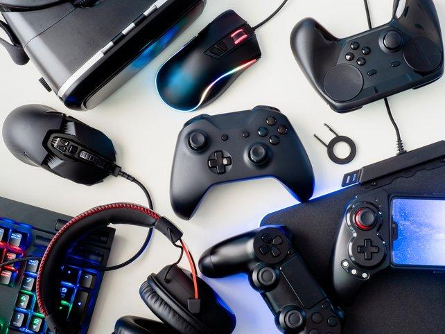 """Hier findet ihr die besten Gaming-Deals der """"Black Friday""""-Woche. (Quelle: Getty Images, EKKAPHAN CHIMPALEE)"""