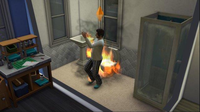 Der Toilettengang in Die Sims 4 könnte jetzt bedrohlich für euch werden.