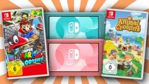Bundles, Joy-Cons und Spiele zu Top-Preisen