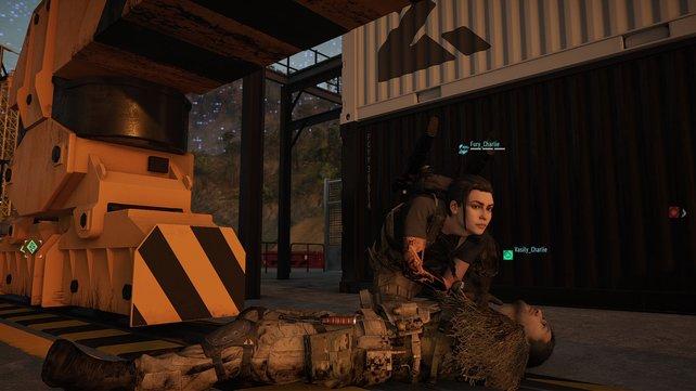 Rettungsaktion: Im Elimination-Modus könnt ihr eure Teamkameraden jederzeit wiederbeleben.