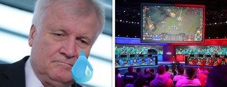 E-Sports: Horst Seehofer ist zuständiger Minister und erntet Kritik