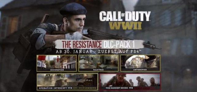 """Das erste DLC-Paket heißt """"The Resistance"""" und liefert euch Inhalte in verschiedenen Modi."""