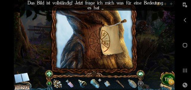 Am Baum könnt ihr die Skizze anlegen. Die Symbole braucht ihr für das nächste Rätsel.