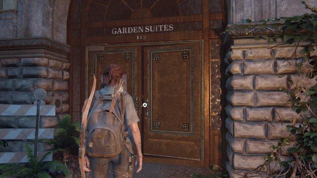 Schleicht euch voran und erledigt nacheinander die Seraphiten, um euch dann zu den Garden Suites 113 zu begeben.