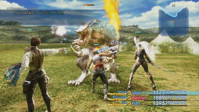 In Final Fantasy 12 dreht sich vieles um die richtige Waffe!