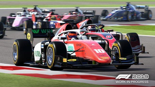 Das Überholen wird in F1 2019 schwieriger, da die KI-Gegner mehr denn je den Weg blocken.