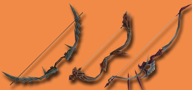 Drei Bögen aus FF 12 - The Zodiac Age. (Quelle: finalfantasy.wikia.com)