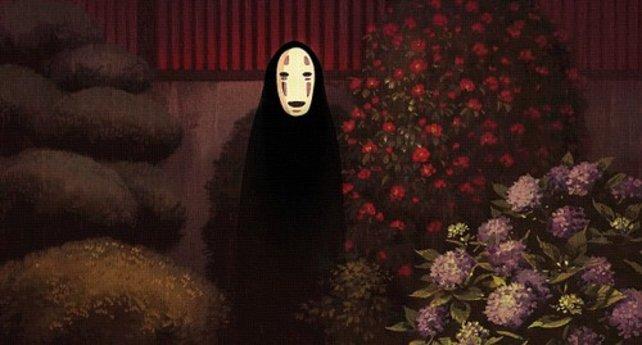 Das mysteriöse Ohngesicht aus Hayao Miyazakis Anime Chihiros Reise ins Zauberland