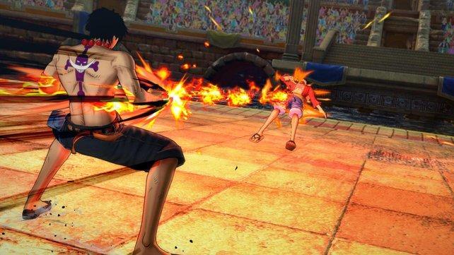 Bereits in One Piece - Burning Blood wurden passende individuelle Kampfstile umgesetzt.