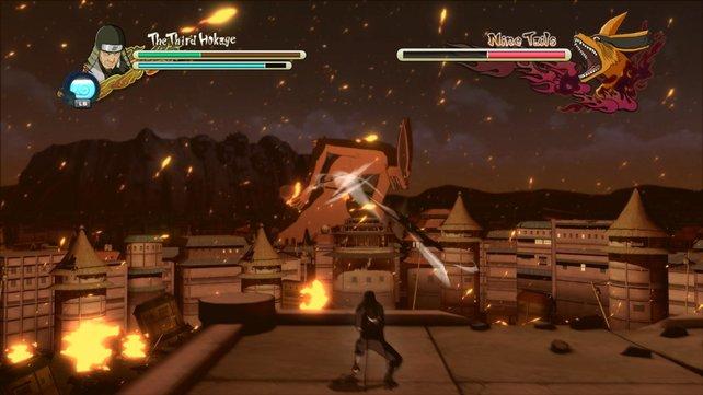"Naruto Shippuden - Ultimate Ninja Storm 3: Trotz ""Beat 'em Up""-Genre gibt es einige RPG-Elemente"