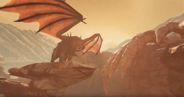 Zu den Tipps und Tricks bei Scorched Earth zählt auch, sich vor den noch unbekannten Kreaturen in Acht zu nehmen.