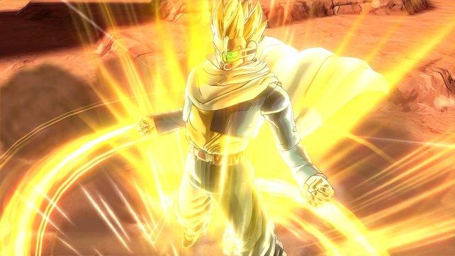 Wie gewohnt verfügen die Kämpfer in Dragon Ball - Xenoverse über alle möglichen übernatürlichen Fähigkeiten.