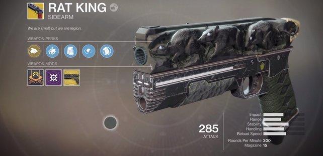 Eine beeindruckende Pistole, die bald euch gehören könnte!