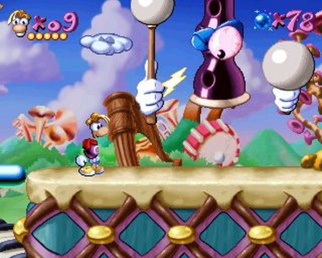 Auch heute noch hübsch anzuschauen: Rayman für die PlayStation.
