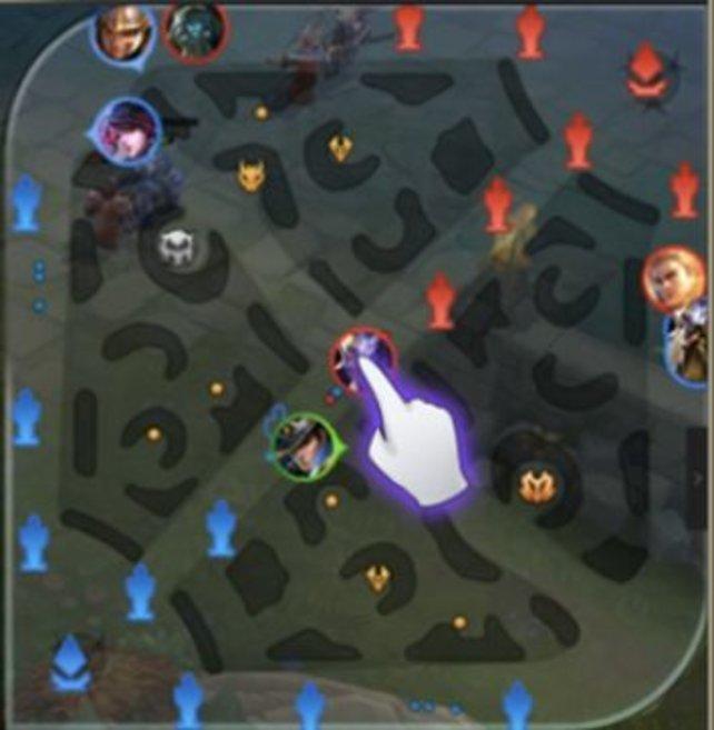 Die Lanes spielen in Arena of Valor eine größere Rolle als ich dachte.