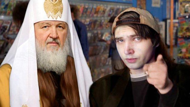 Sokolov (rechts) ist ein bekannter russischer Blogger. Wollte er nur provozieren? Quelle: https://www.youtube.com/watch?v=sw6WpQjg_q4