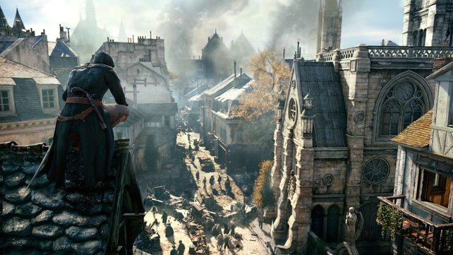 Blick in die Ferne: Der neue spielbare Held hört auf den Namen Arno. Bisher bekanntes Detail: er trägt eine Taschenuhr bei sich.