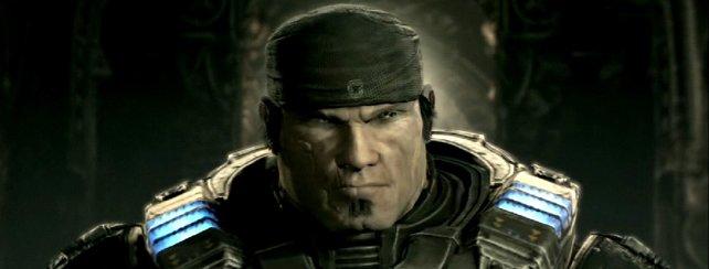 Grimmig hat er zu sein, der Held. Hier Marcus Fenix aus Gears of War.