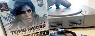 Rise of the Tomb Raider: So geil sieht die PS1-Hülle aus