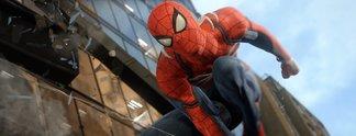 Spider-Man: Spieler findet sich dank Glitch in einer Stadt aus Jeans wieder