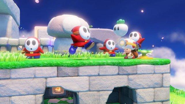 Jetzt fehlen nur noch Mouser, Wart und Birdo. Gemüse als Wurfgeschoss gab es zuletzt 1988 in Super Mario Bros. 2.