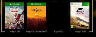Xbox Live Games with Gold: Das sind die kostenlosen Spiele im August 2017