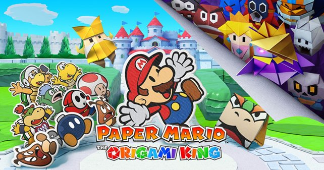 Mit unserer Komplettlösung zu Paper Mario: The Origami King werdet ihr alle Luftschlangen erfolgreich zerstören!