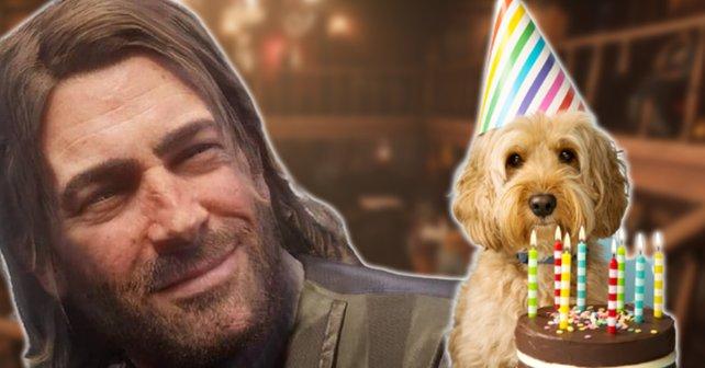 """Um einen Geburtstag trotz Corona-Einschränkungen zu feiern, mussten zwei """"Red Dead Online""""-Spieler kreativ werden. Bildquelle: Getty Images / RuthBlack."""