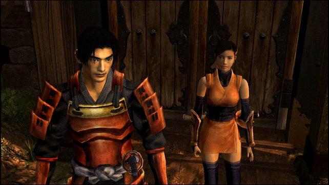Akechi und Kaede auf Mission Prinzessin Yuki vor dunklen Dämonen zu retten